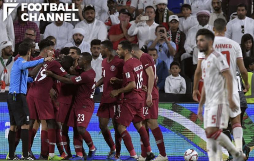 アジアカップ、日本の決勝の相手はカタール。ザック率いる開催国UAEに完勝