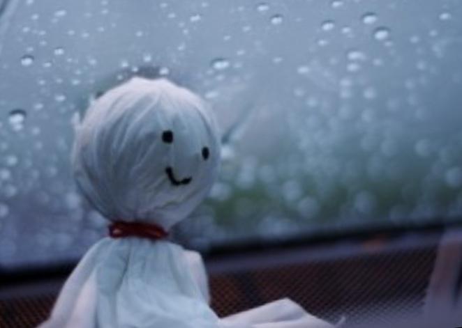 雨で早あがり…