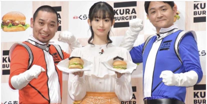 """くら寿司、業界初の""""ハンバーガー""""発売へ"""