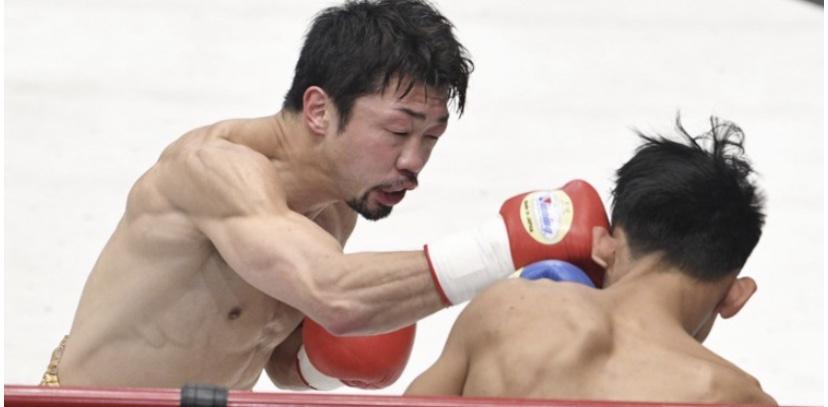 八重樫東がTKO勝ち、4階級制覇へ弾み