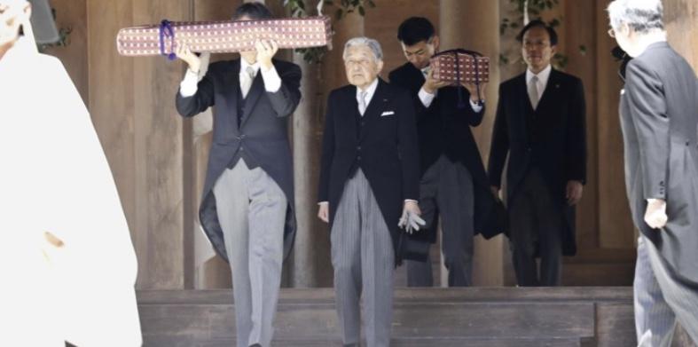 両陛下が伊勢神宮の外宮を参拝、退位を報告