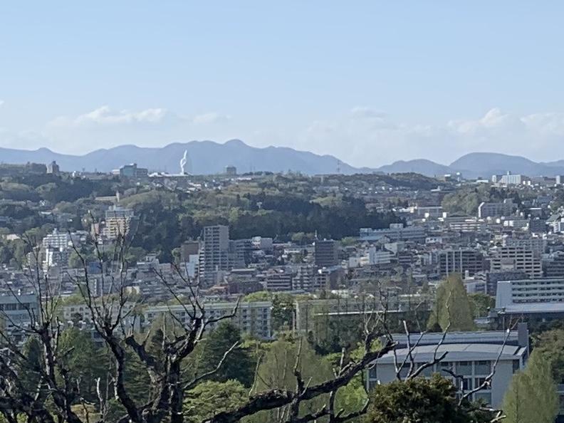 青葉山公園からの眺め