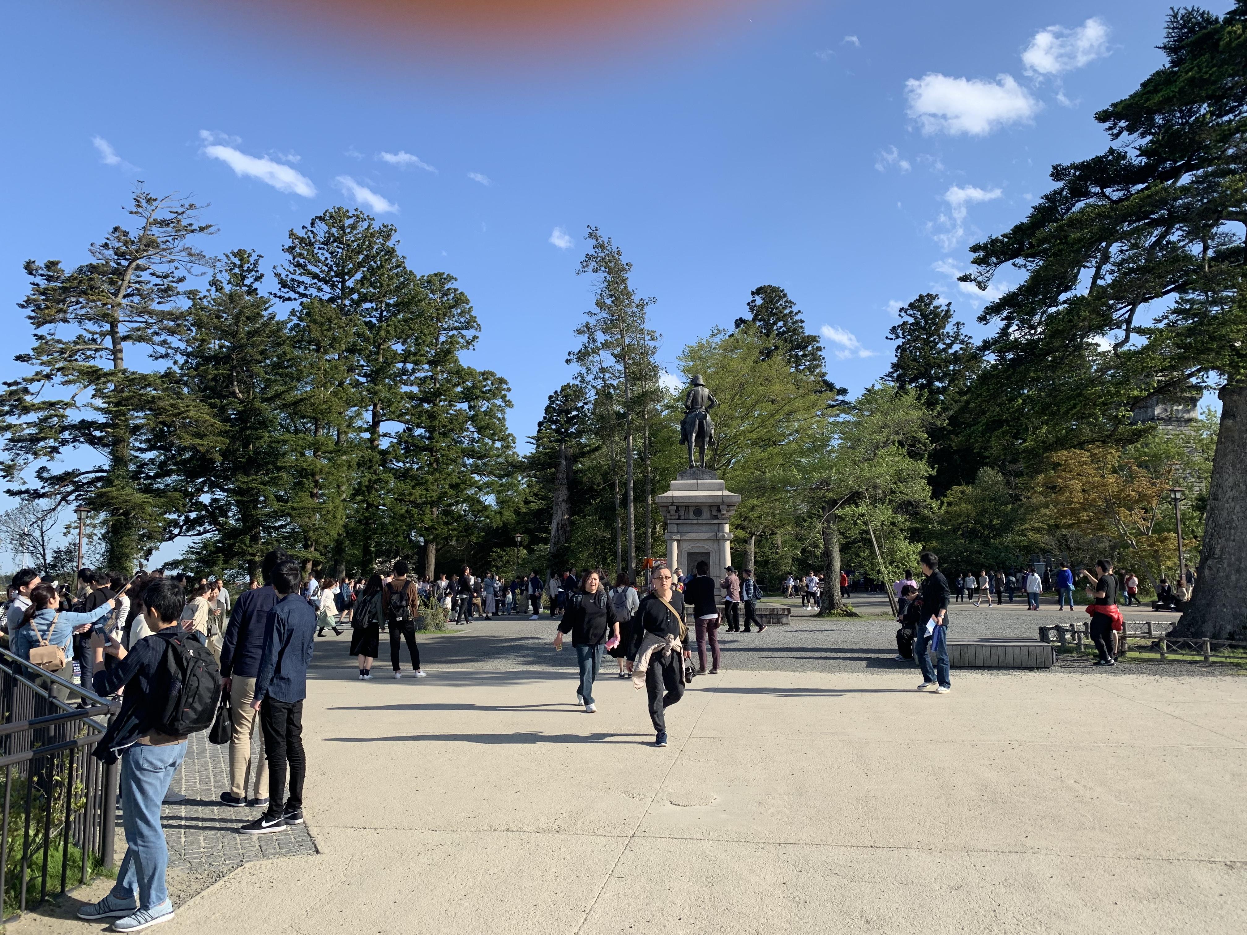 青葉山公園 仙台城跡
