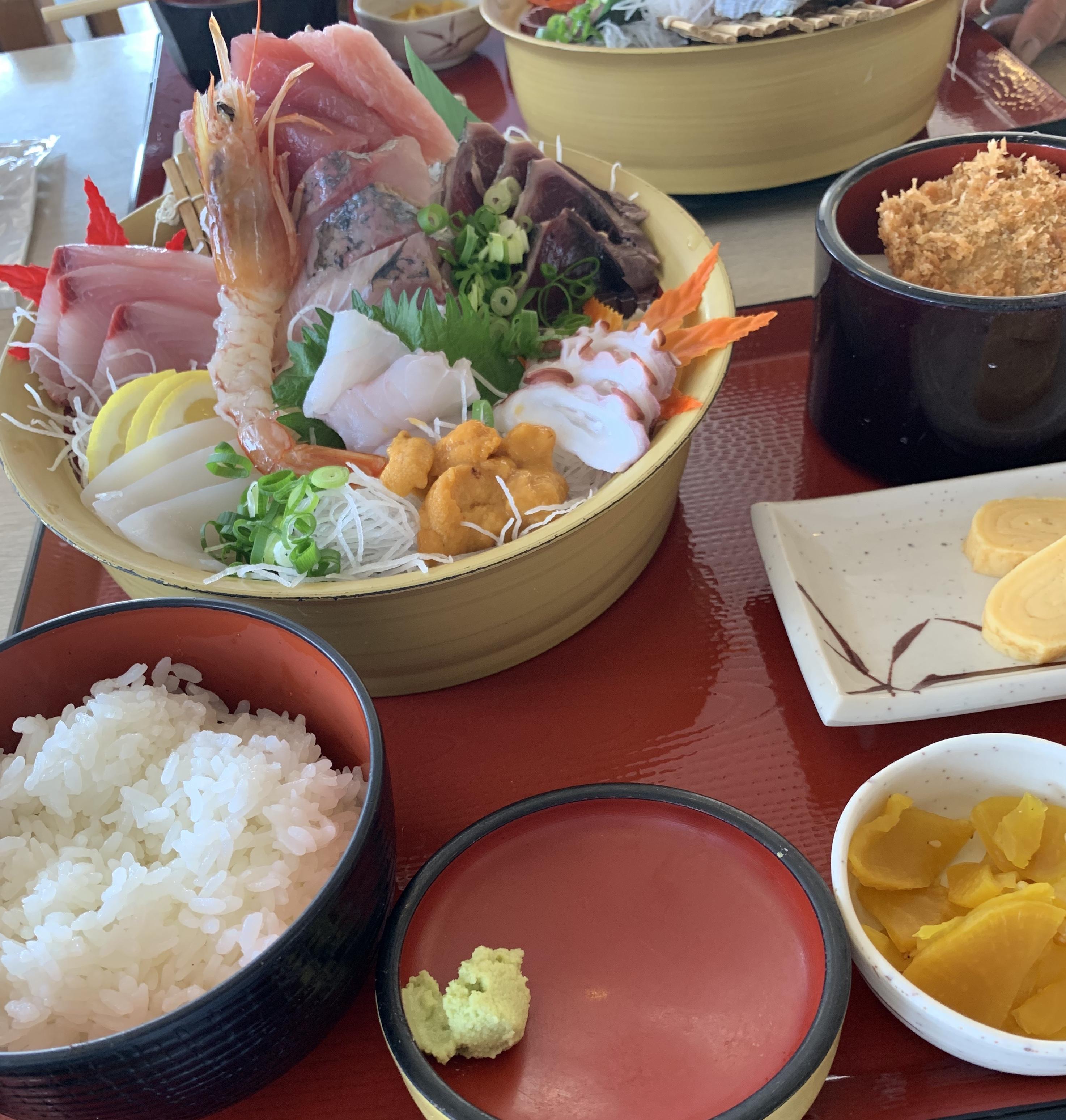 小名浜 海鮮御膳…