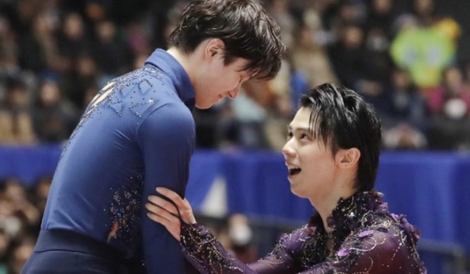 宇野昌磨が全日本4連覇達成、2位は羽生結弦