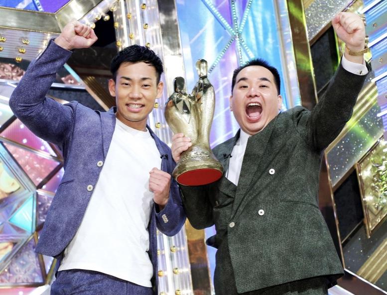 ミルクボーイが新王者「M―1グランプリ2019」瞬間最高視聴率は関西33・2%、関東21・9%