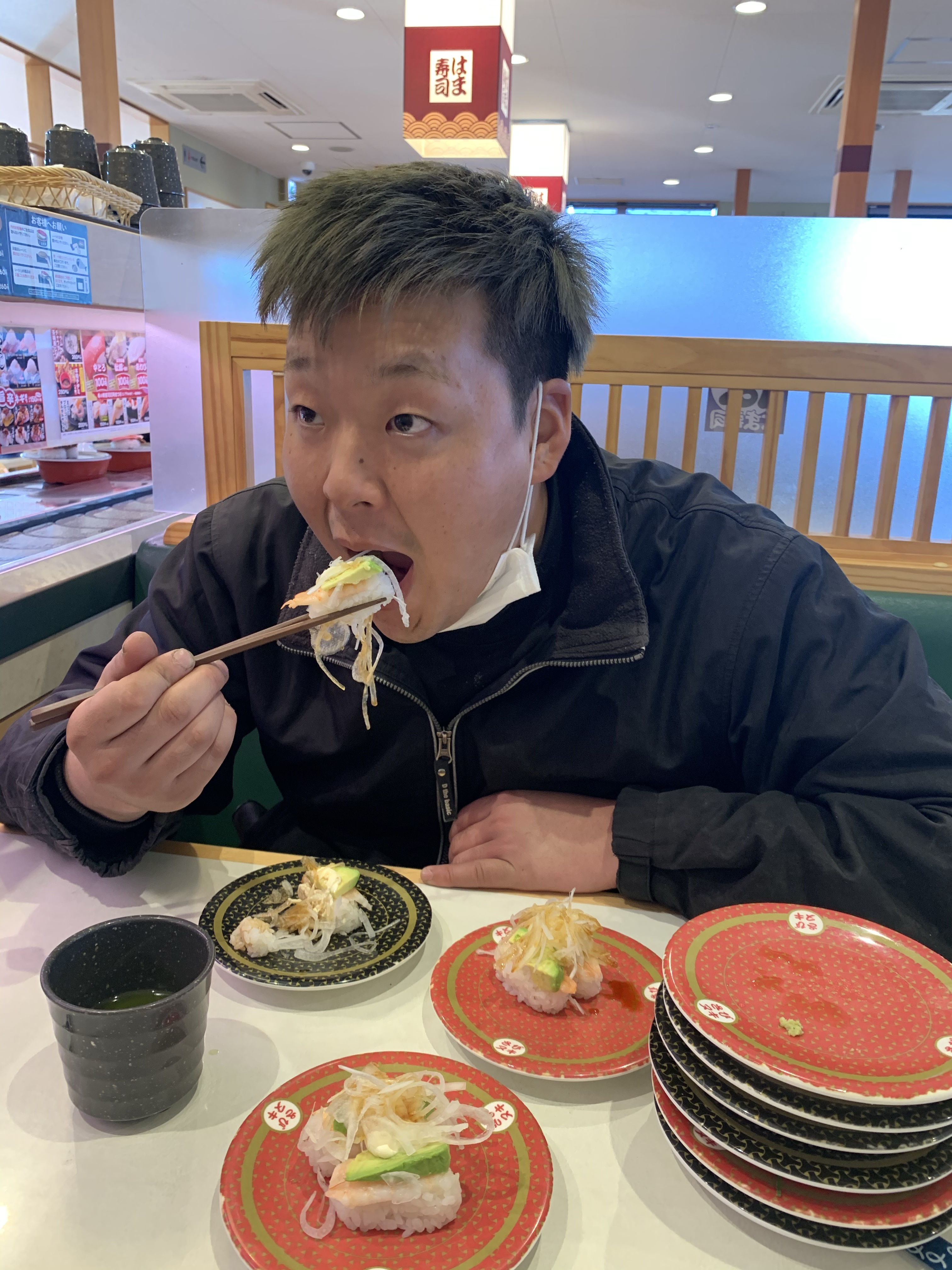 回転寿司…