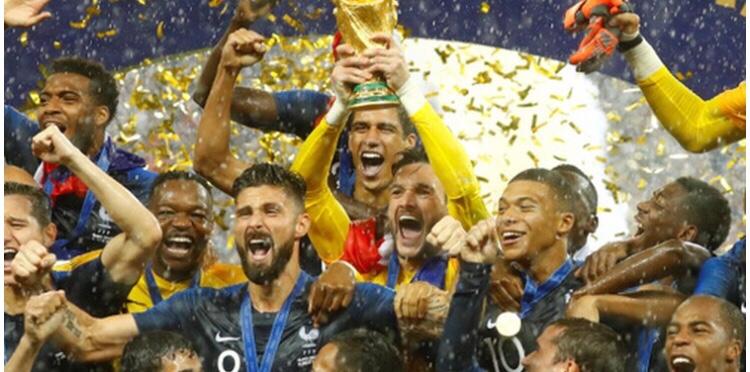 ロシアW杯、フランスが2度目の優勝 ‼️