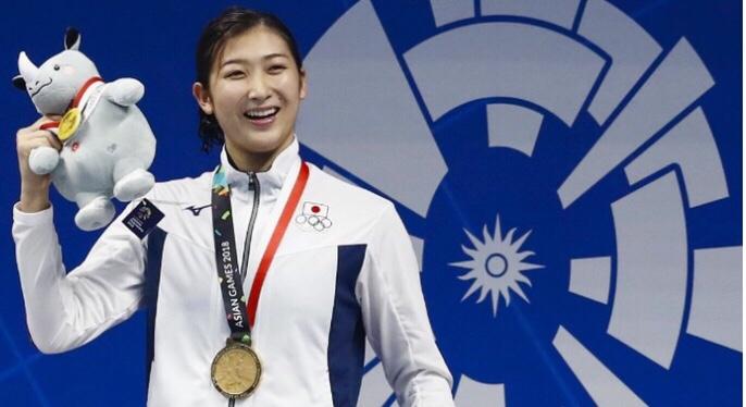 池江璃花子が日本勢最多の6冠 アジア大会