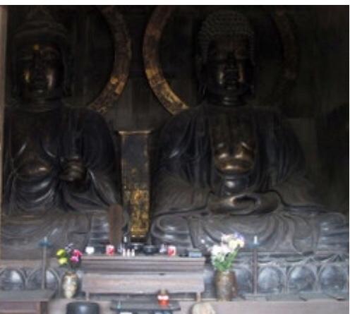 木彫大仏坐像(平戸の大ぼとけ)埼玉県熊谷市