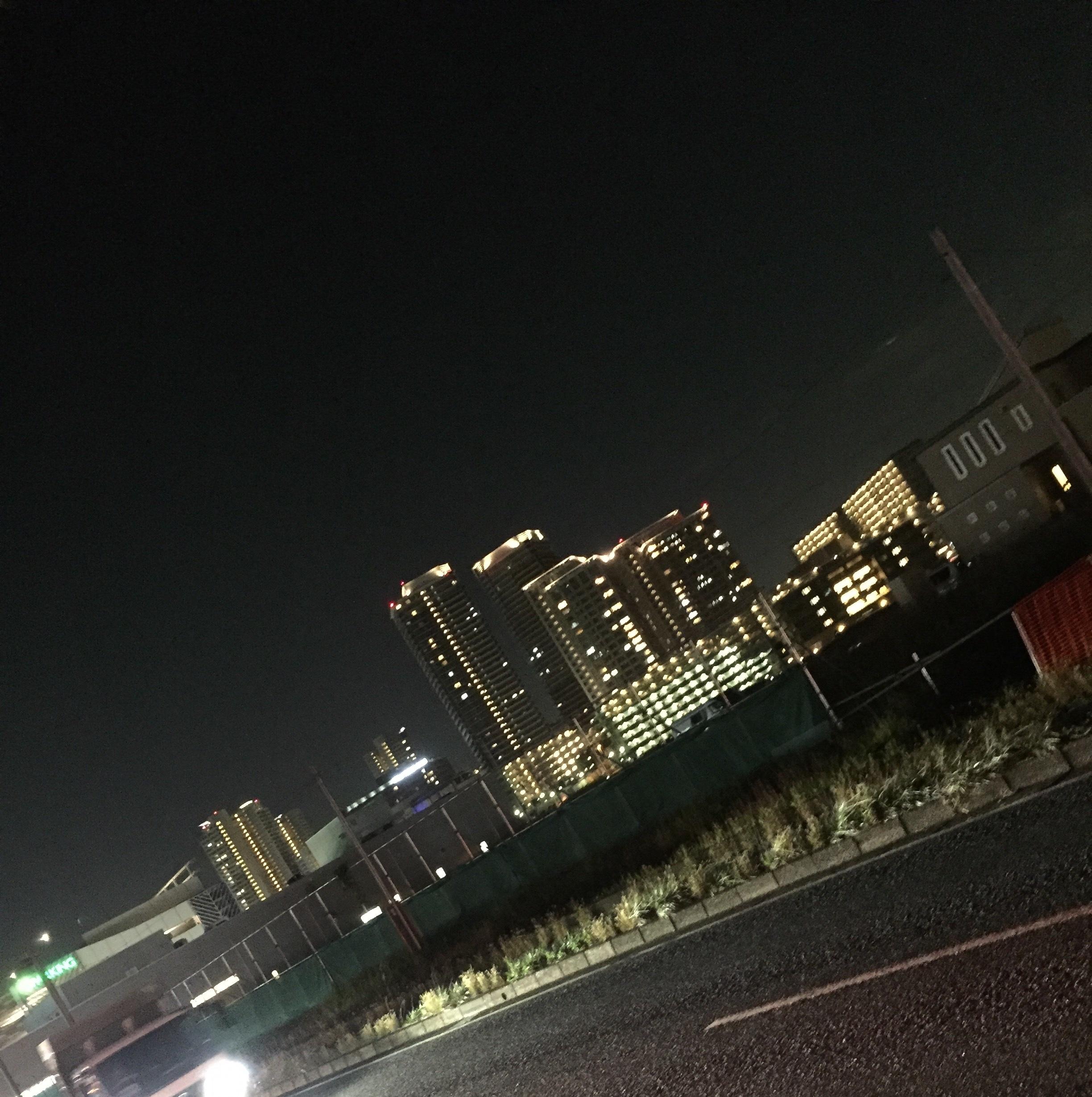 夜景がキレイ!